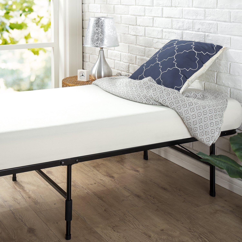 Zinus Sc Sbbk 14nt Fr Smartbase Bed Frame Metal Narrow