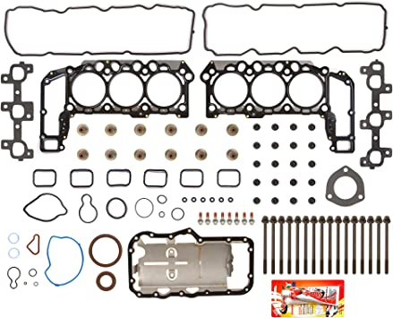 RIGHT 2 X CYLINDER HEAD GASKET LEFT JEEP GRAND CHEROKEE COMMANDER 3.7L V6