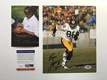 eda4085a2 Lynn Swann Rare! signed autographed Pittsburgh Steelers 8x10 photo PSA DNA  cert