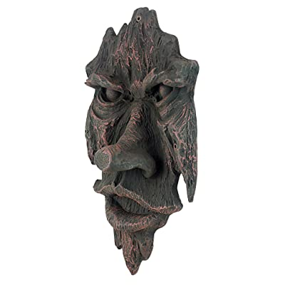 The Spirit of Nottingham Woods: Greenman Tree Sculpture : Tree Faces : Garden & Outdoor