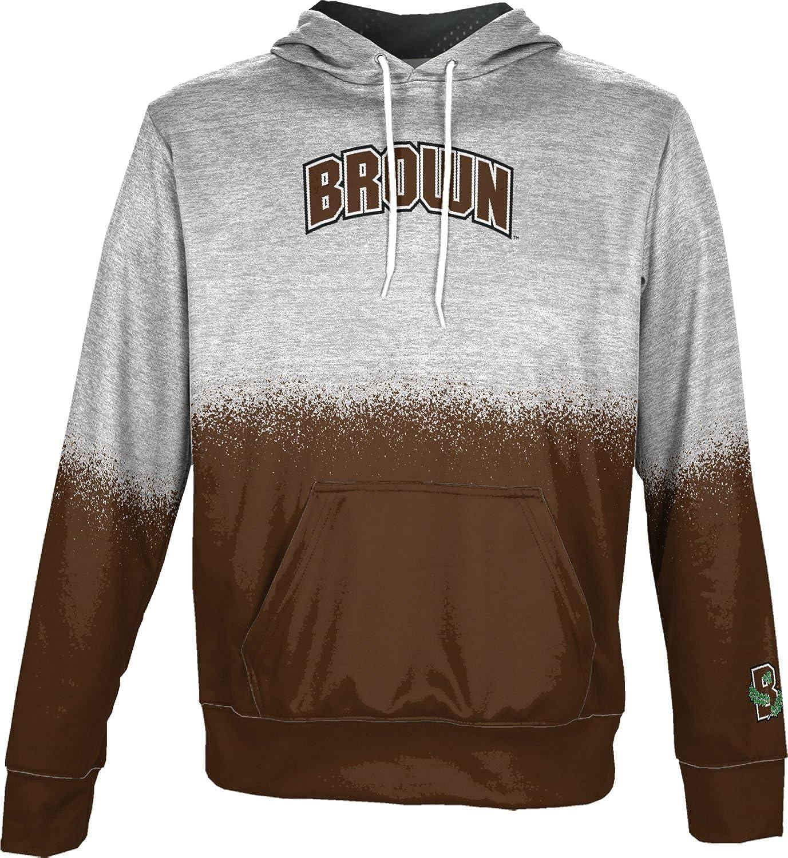 ProSphere Brown University Boys Hoodie Sweatshirt Spray Over