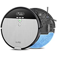 Deals on ILIFE V8s 2-in-1 Mopping Robot Vacuum, Big 750ml Dustbin