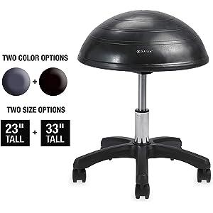 Gaiam Balance Ball Chair Stool