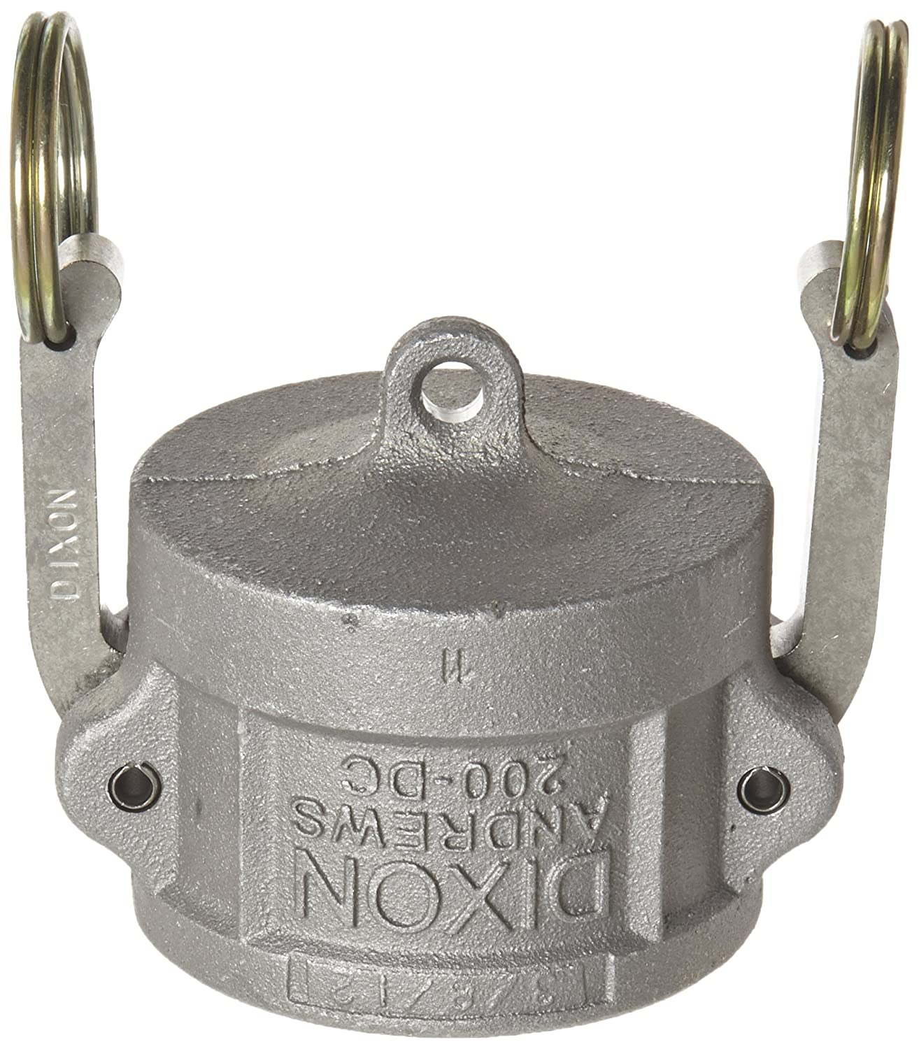 Dixon G150-DC-AL Aluminum A380 Global Type DC Cam and Groove Hose Fitting Dust Cap 1-1//2