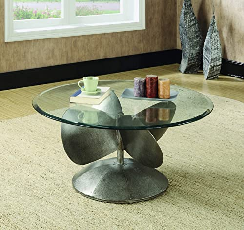 Coaster Home Furnishings Coffee Table, Grey