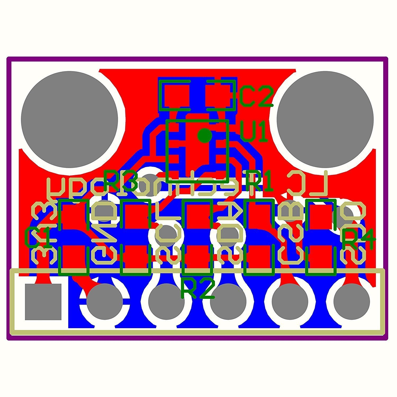 HiLetgo BME280 Atmospheric Pressure Sensor Temperature Humidity Sensor Breakout for Arduino