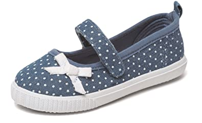 434d6c68a00f Chatterbox Kids Girls Mary Jane Pumps Canvas Trainers Summer Beach Shoes  Size UK 4-12