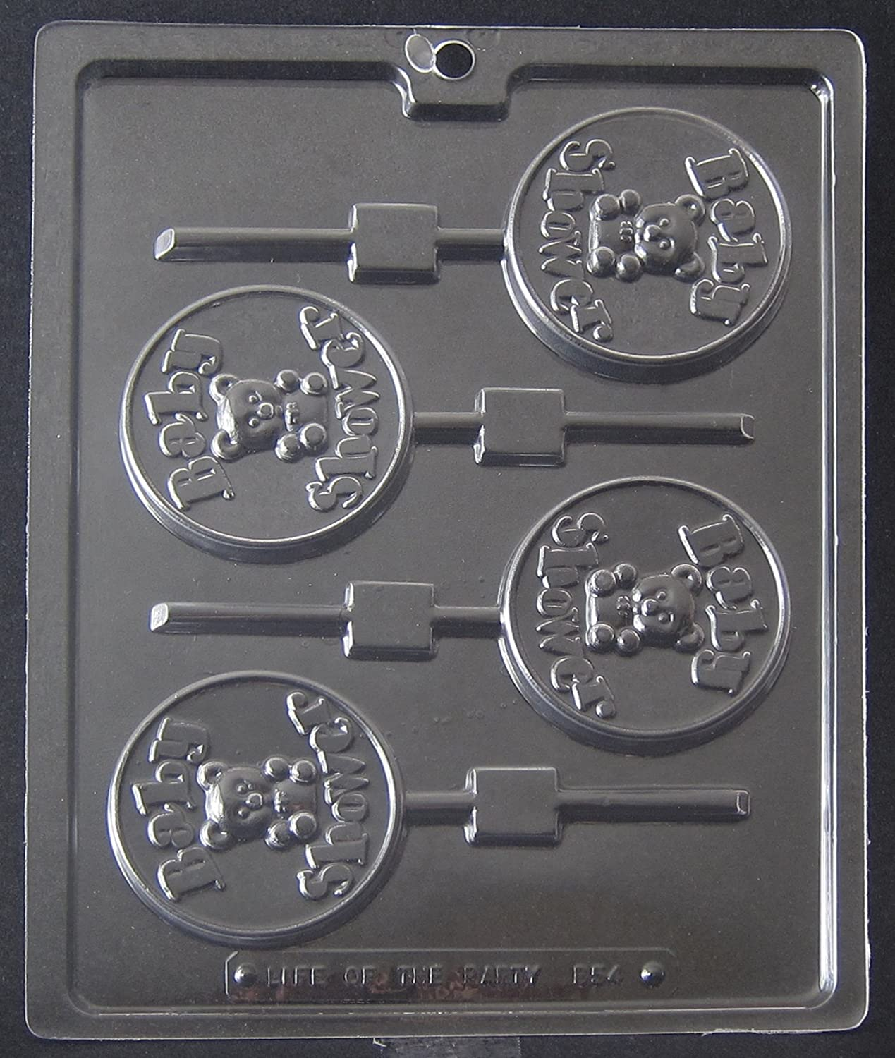 Amazon.com: BABY SHOWER LOLLIPOP CHOCOLATE CANDY MOLD: Candy Making Molds:  Kitchen U0026 Dining