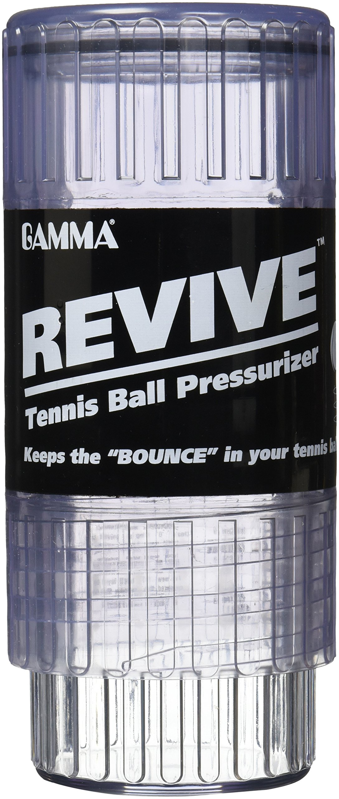 Gamma Revive Tennis Ball Pressurizer – Pressurized Ball Saver Storage Canister, Keeps Balls Fresh, Preserves and Restores New Ball Bounce