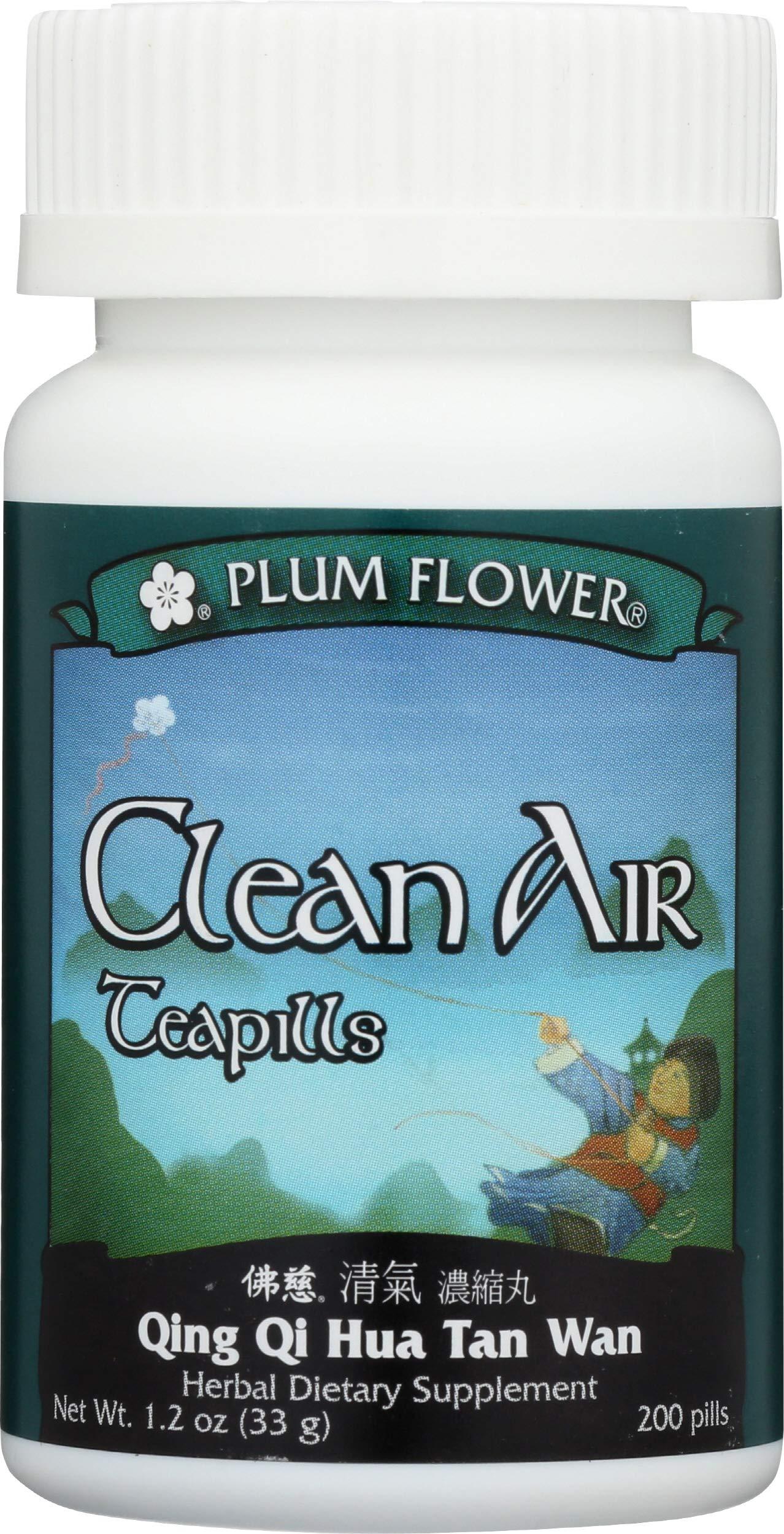 Plum Flower Chinese Tea, Clean Air, 200 Count