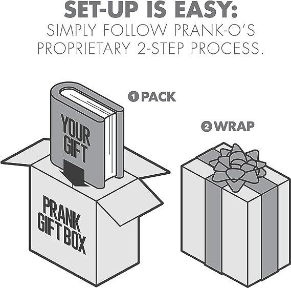 "Prank-O Prank Fake Gift Box 12000 Piece Puzzle Jigsaw Micro 8"" x 6"" x 2"" C2"