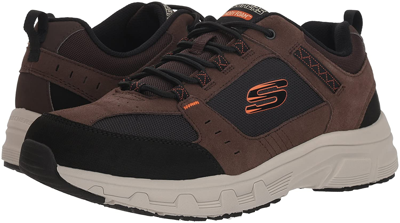Skechers Oak Herren Oak Skechers Canyon Sneaker Schokoladenbraun / Schwarz 5d0082