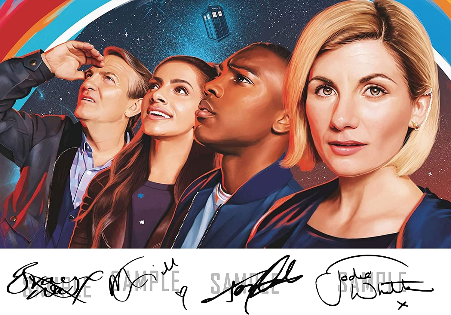 HWC Trading Jodie Whittaker Signed A4 Printed Autograph Doctor Dr Who Photo Picture Print Display