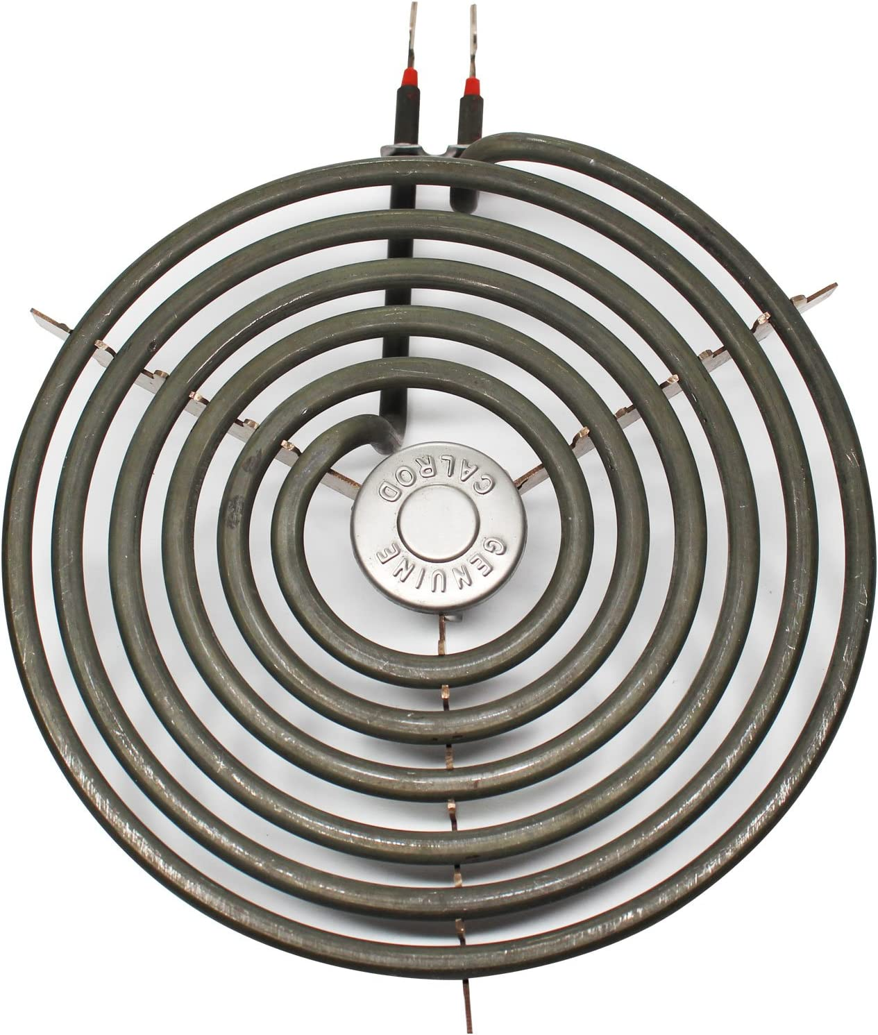 Replacement WB30M2 8 inch 6 Turns Burner Element for General Electric - Compatible with General Electric JP328SK2SS, JP328WK2WW, JXDC41001, J63CK1, JB390GxH1, JB391G J2, JB391GxH1, JB391GxJ1