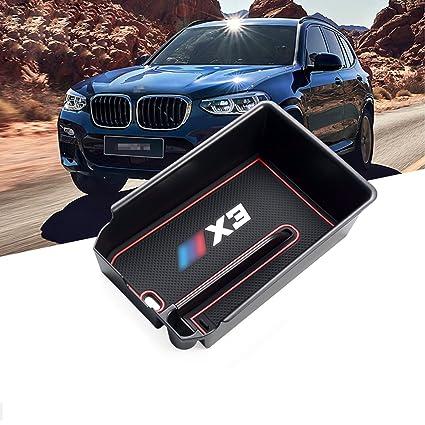2d2adf41a28 Amazon.com  R RUIYA Armrest Box for X3 G01 Car Accessory Interior Door Mat  Cup Mat Center Console Organizer Storage Box (Armrest Box)  Automotive