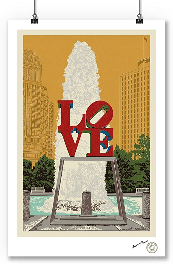 Baltimore Retro Skyline 48010 Maryland 16x24 SIGNED Print Master Art Print - Wall Decor Poster