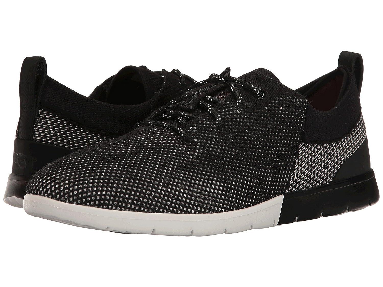 [UGG(アグ)] メンズレースアップシューズスニーカー靴 Feli HyperWeave Black 10 (28cm) D - Medium B07DP692DT