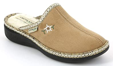 design senza tempo cc32c 2f6d7 Grunland Women's Alde CI0835 Slippers Fleece Lining: Amazon ...