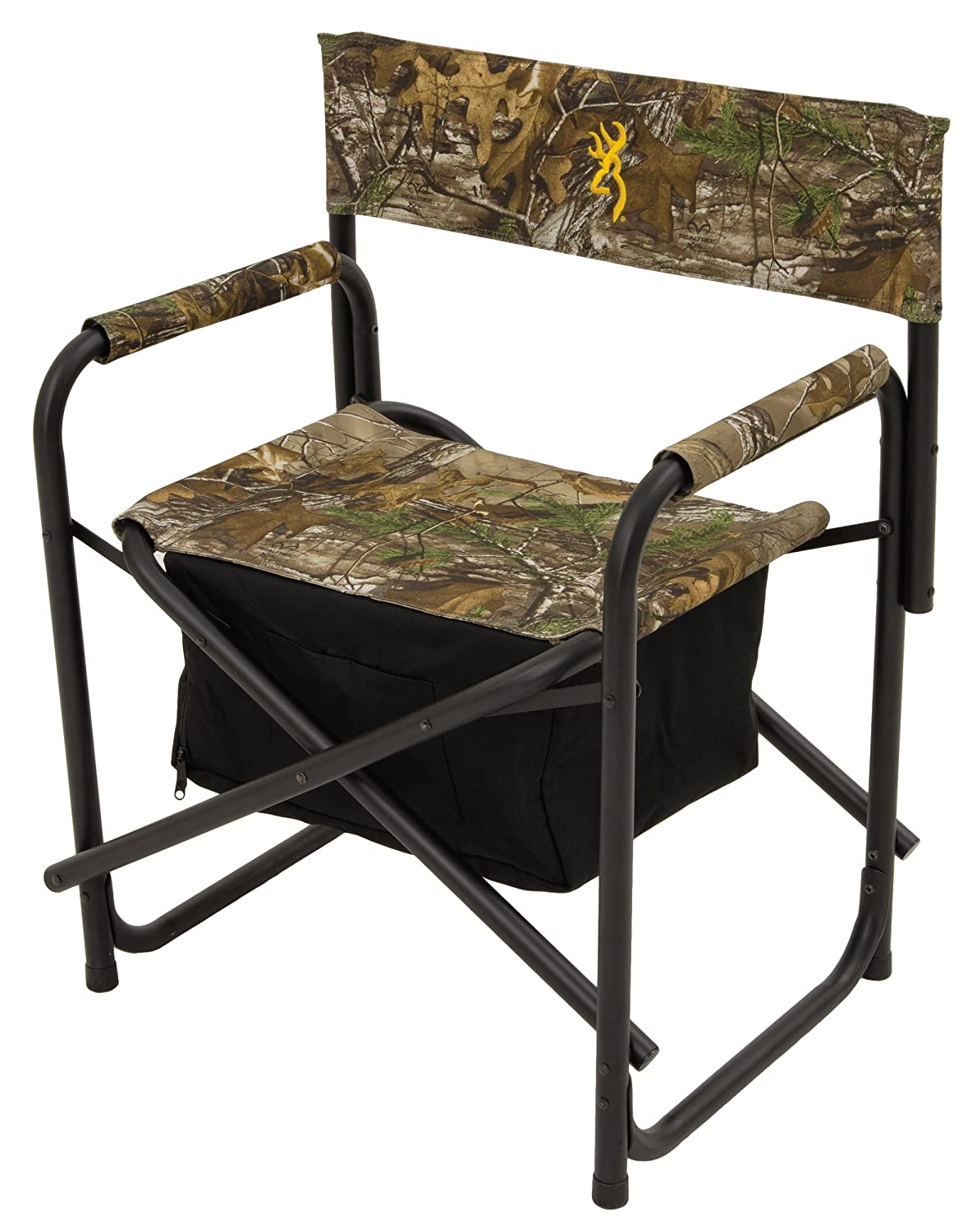 amazoncom browning camping directors chair plus with insulated cooler bag sports u0026 outdoors