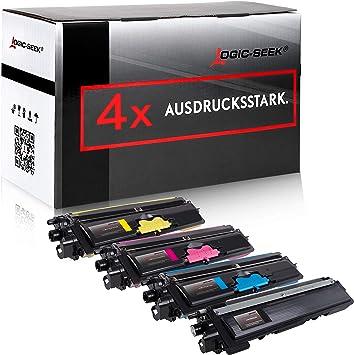 Set Toner Für Brother Tn 230 Schwarz 3 Farben Bk 2 200 Seiten Color Je 1 400 Seiten Kompatibel Bürobedarf Schreibwaren
