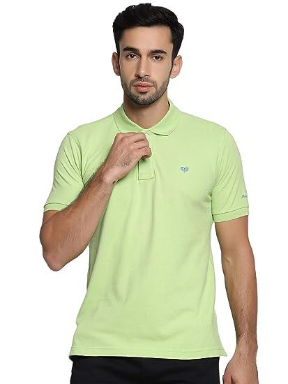 cb161dd1 Peeppal Pure Organic Cotton T-Shirt/Solid Polo for Men