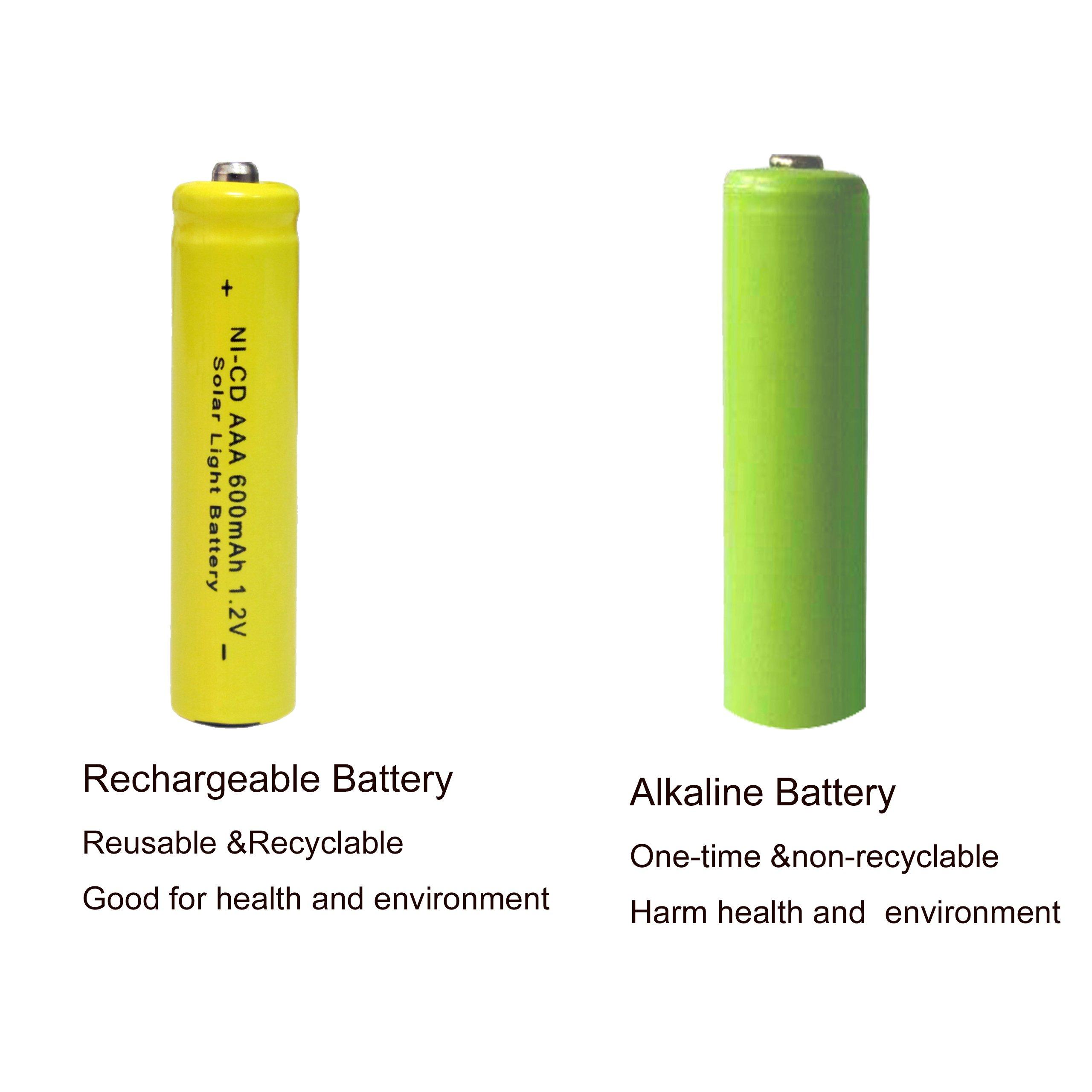 uk batteries owl p solar rechargeable smart ecolux ebay s aaa garden light