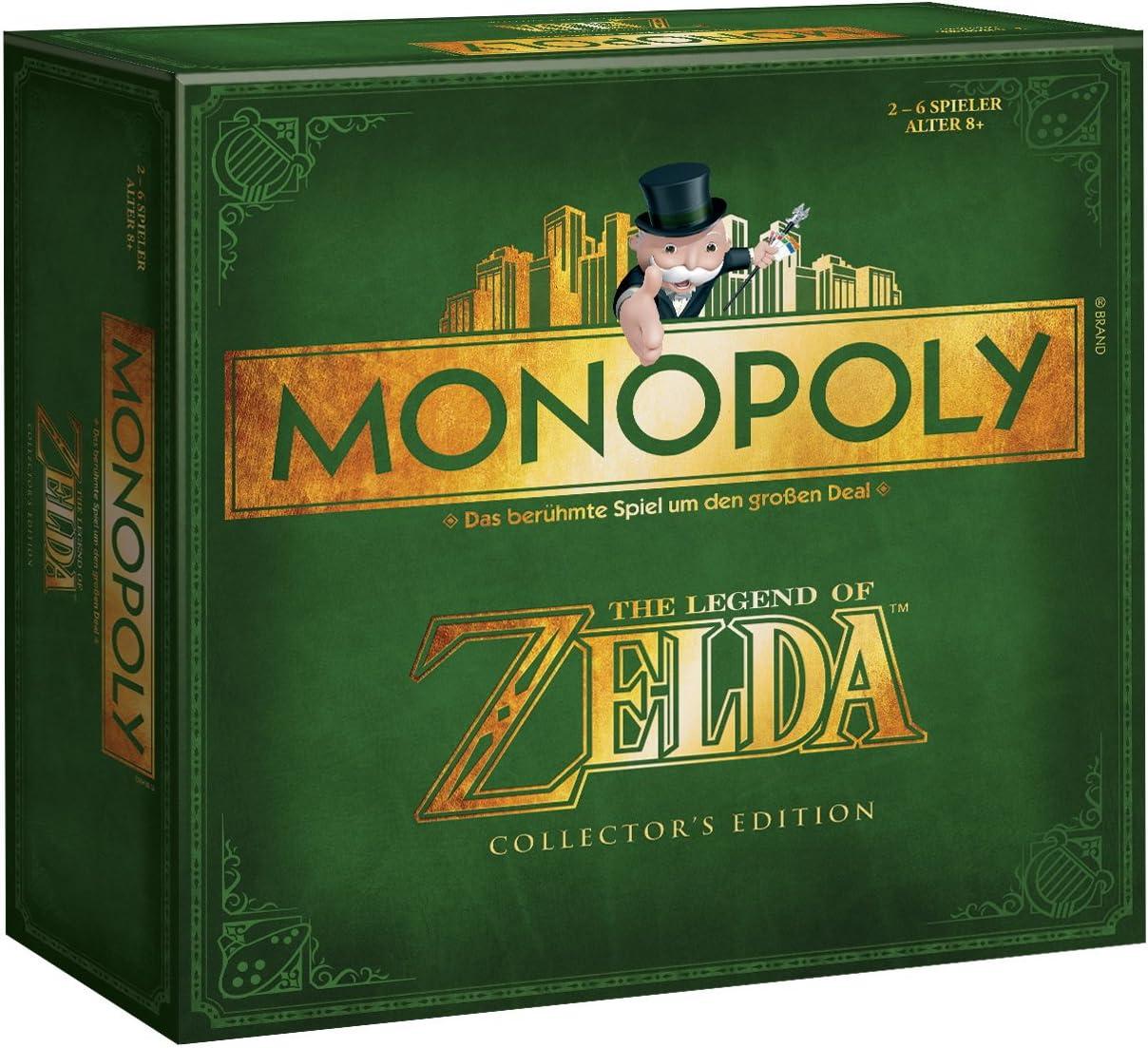 Winning Moves 44093 - Monopoly: Zelda Collectors Edition (deutsch) Square Box [Importación alemana]: Amazon.es: Juguetes y juegos