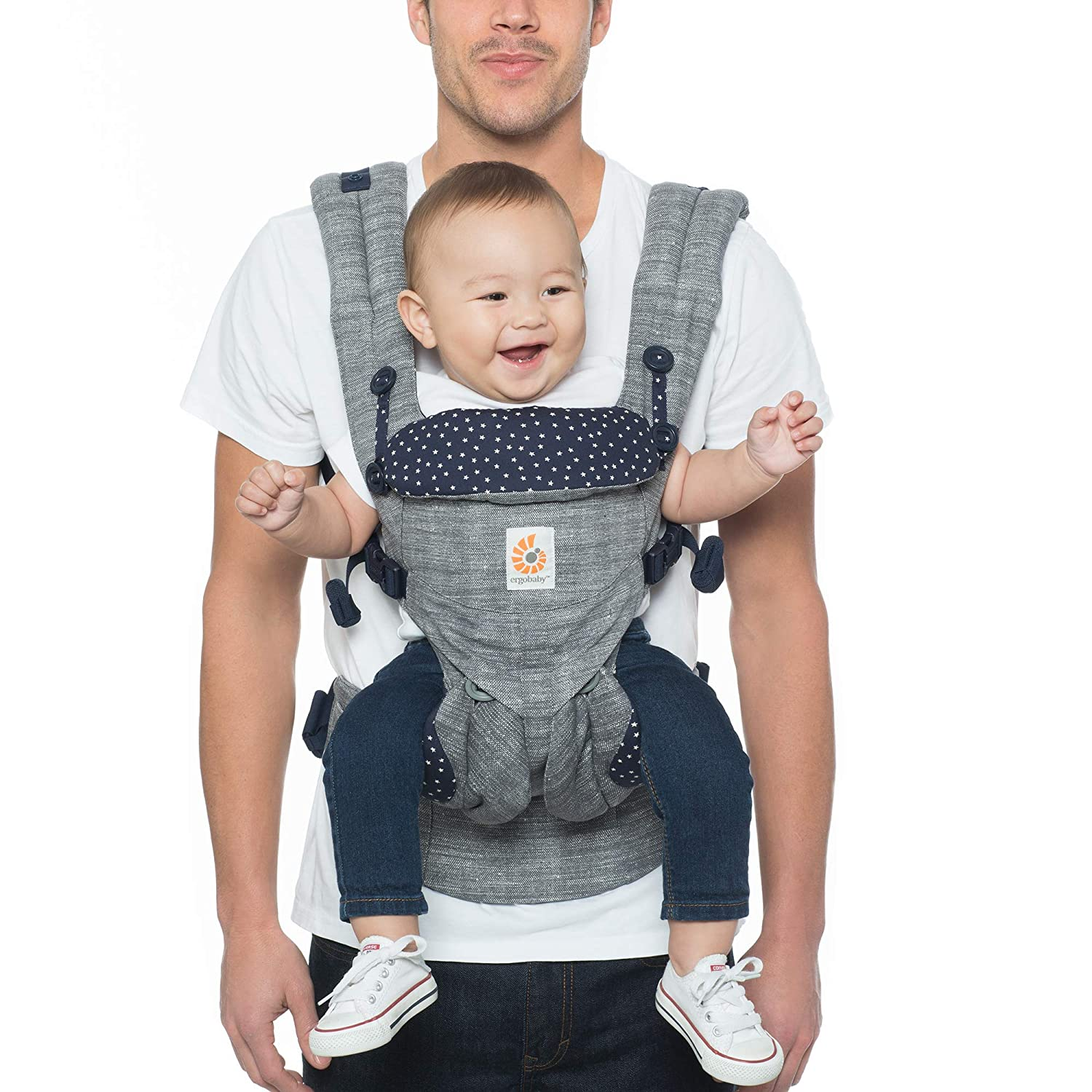 ab229eb2e0b Ergobaby Omni 360 All-in-One Ergonomic Baby Carrier