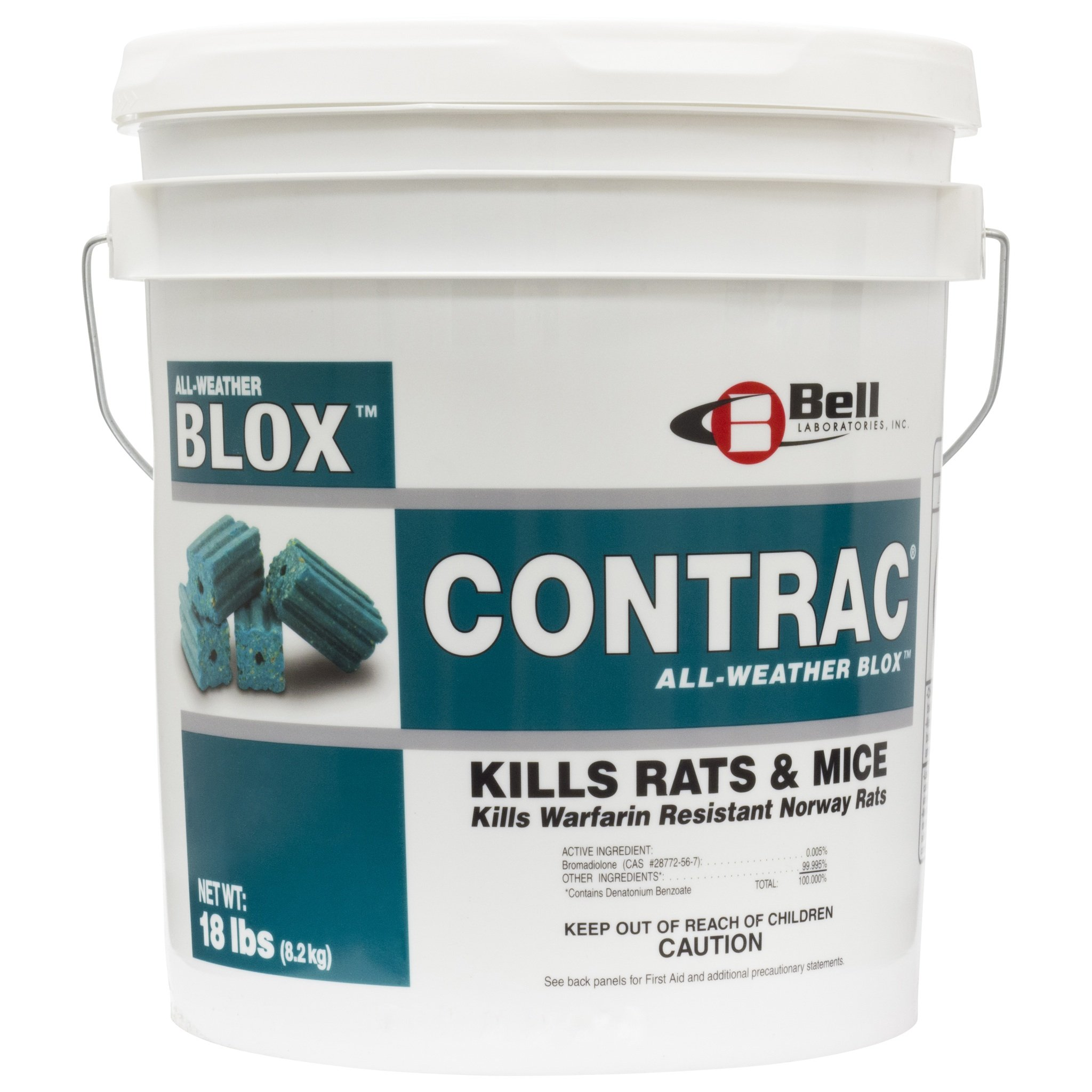Bell Labs Contrac All Weather Blox 18 Lb Pail BELL by Bell Labs