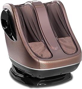 uKnead Leg Massager - Shiatsu Calf & Foot Rollers, Air Compression & Heat