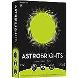 """Astrobrights Color Paper, 8.5"""" x 11"""", 24 lb/89 gsm, Terra Green, 500 Sheets (21588)"""