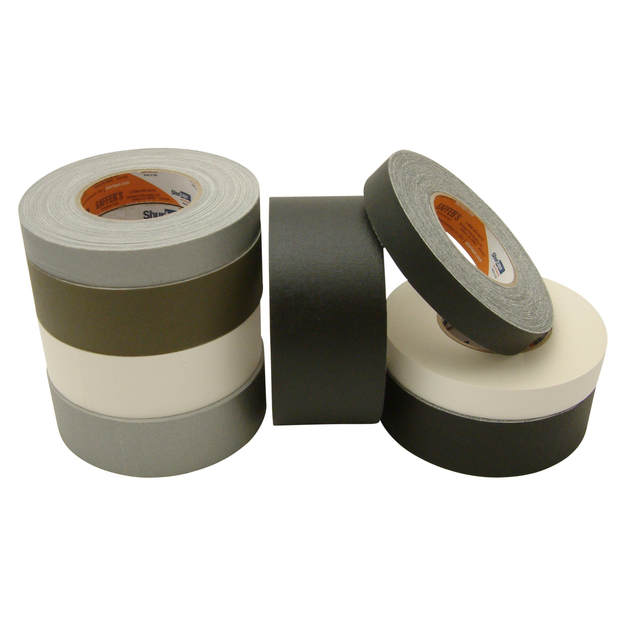Shurtape P-672/BLK350 P-672 Professional Grade Gaffers Tape: 3'' x 50 yd. by Shurtape (Image #2)