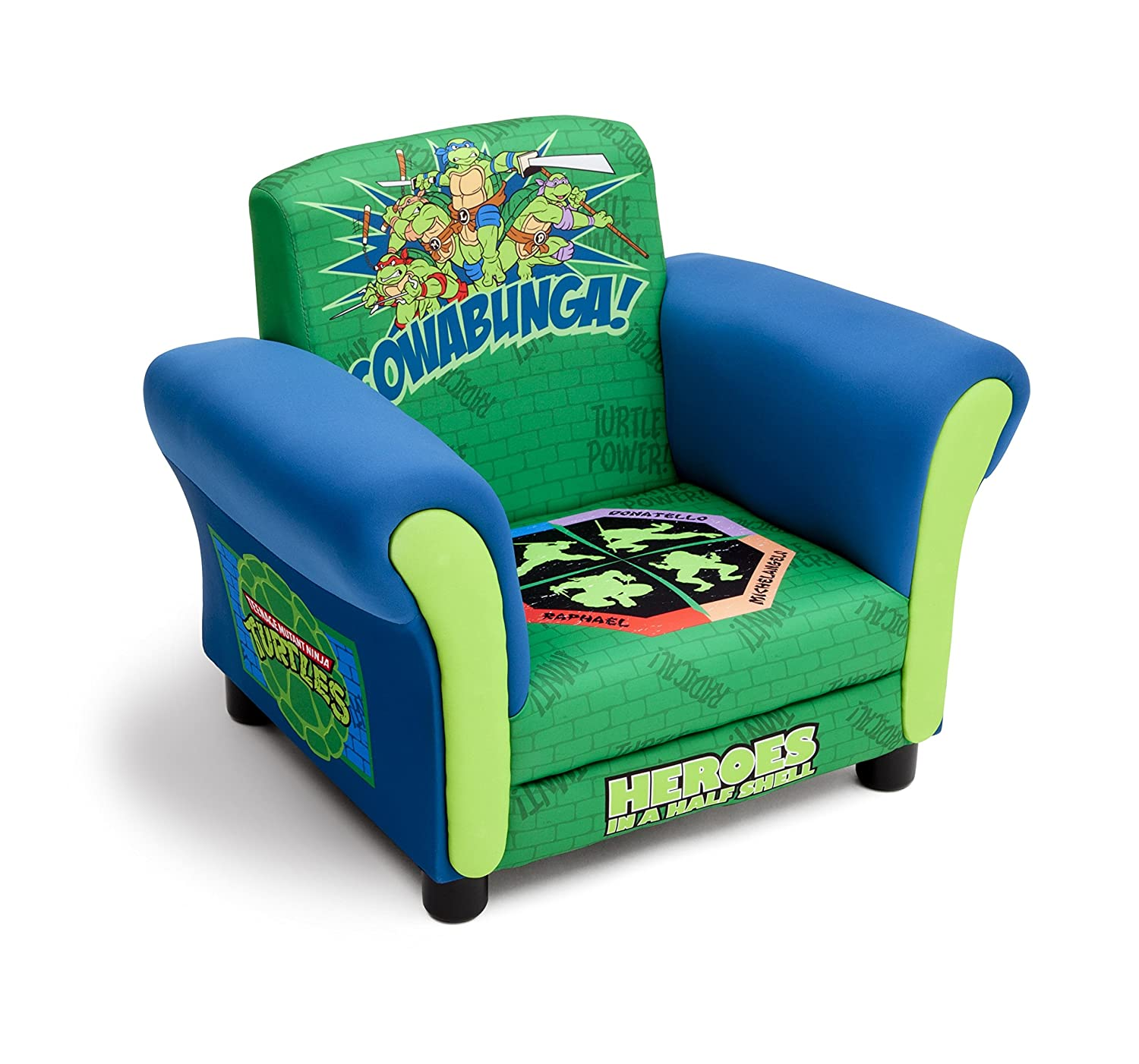 Amazon Delta Children Upholstered Chair Nickelodeon Ninja