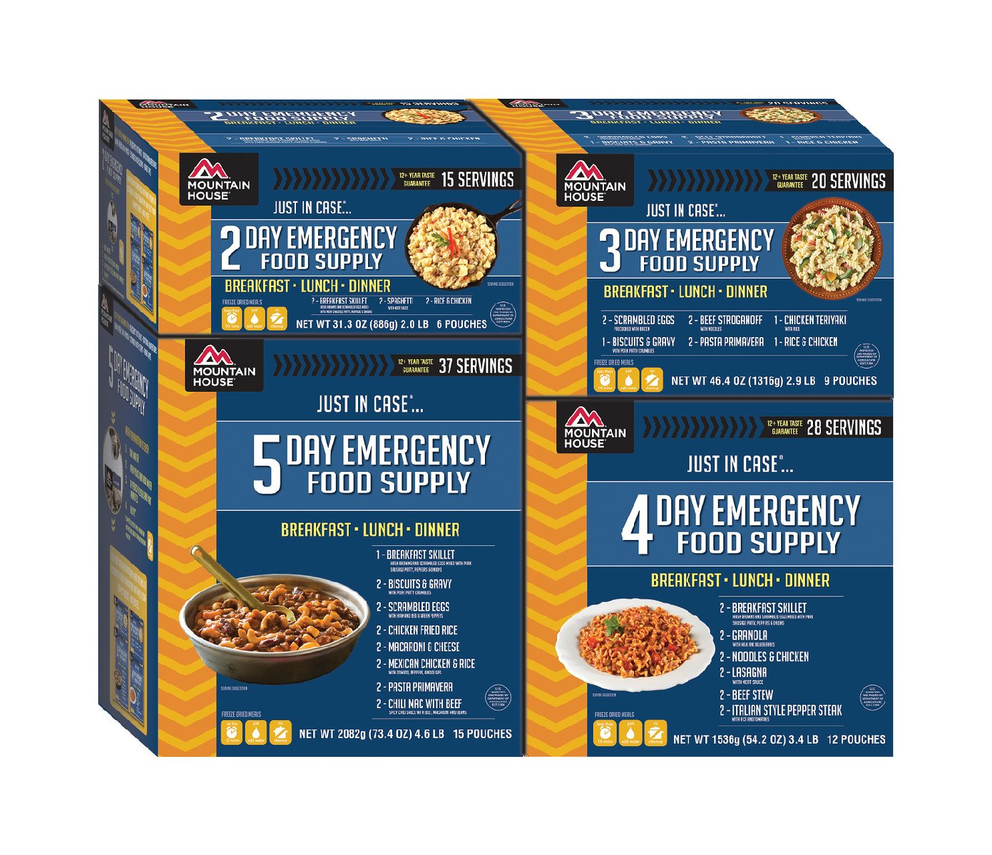 Mountain House 14-Day Emergency Food Supply Kit by Mountain House