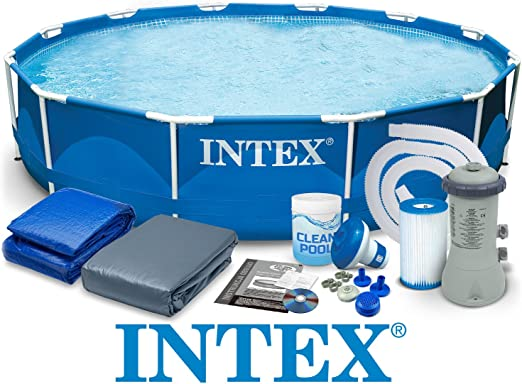 Intex 28212 366 x 76 cm 6 in1 6503l Steel Pro Frame Pool Pool ...