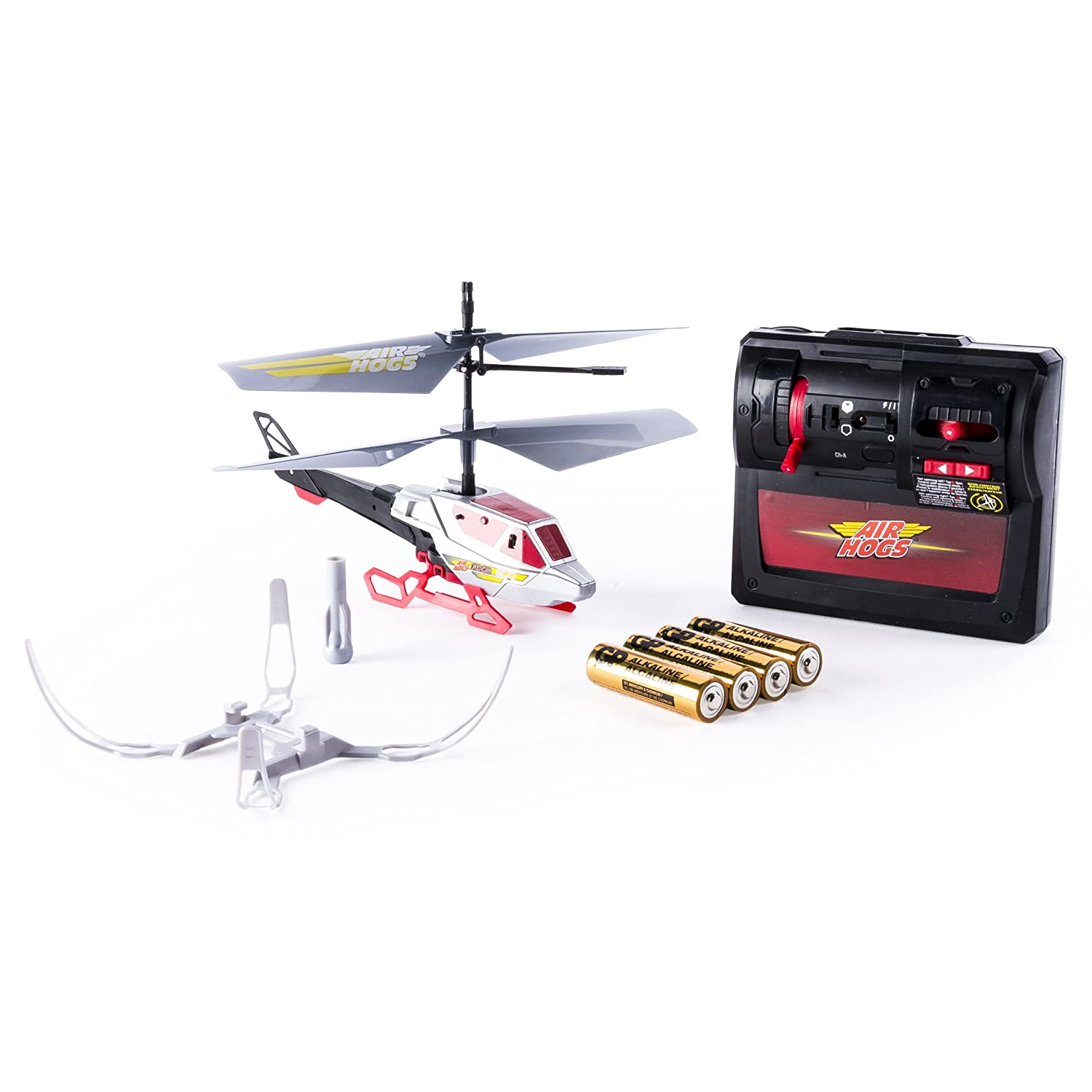 Air Hogs Axis 200 Rc Helicopter With Batteries Red Garage Wire Diagram Ride Toys Games
