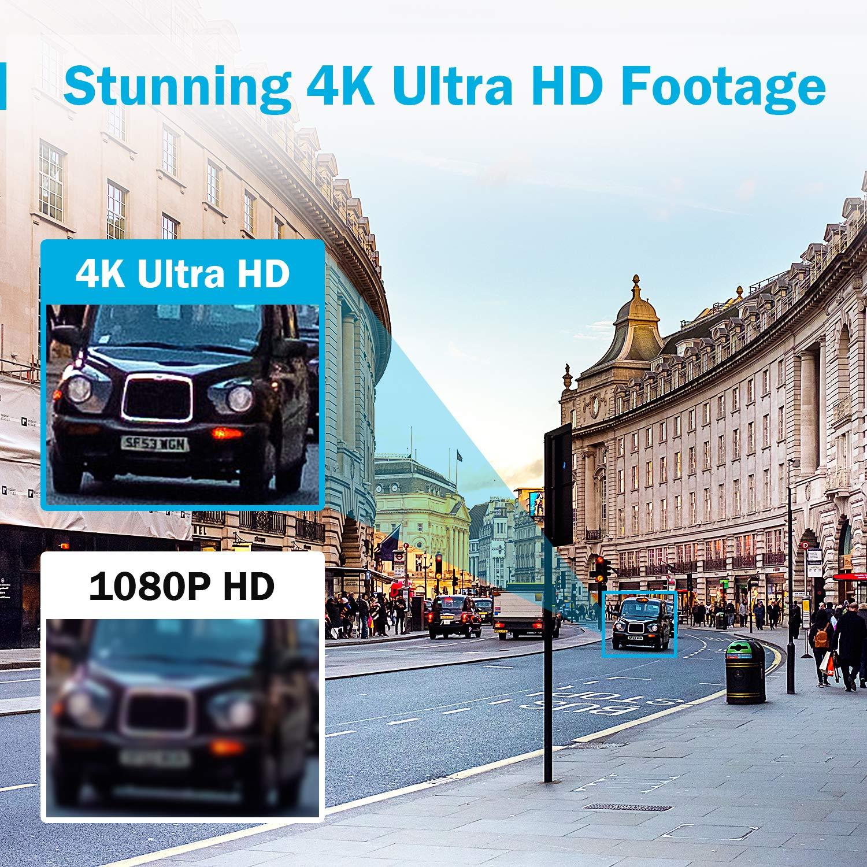 ANNKE DVR 8 Kanal 4K HD 5in1 TVI//AHD//CVI//CVBS//IPC DVR Receiver Netzwerk Digital Video Recorder mit 2TB Festplatte f/ür CCTV /Überwachungskamera P2P HDMI VGA Ausgang,Smart Search