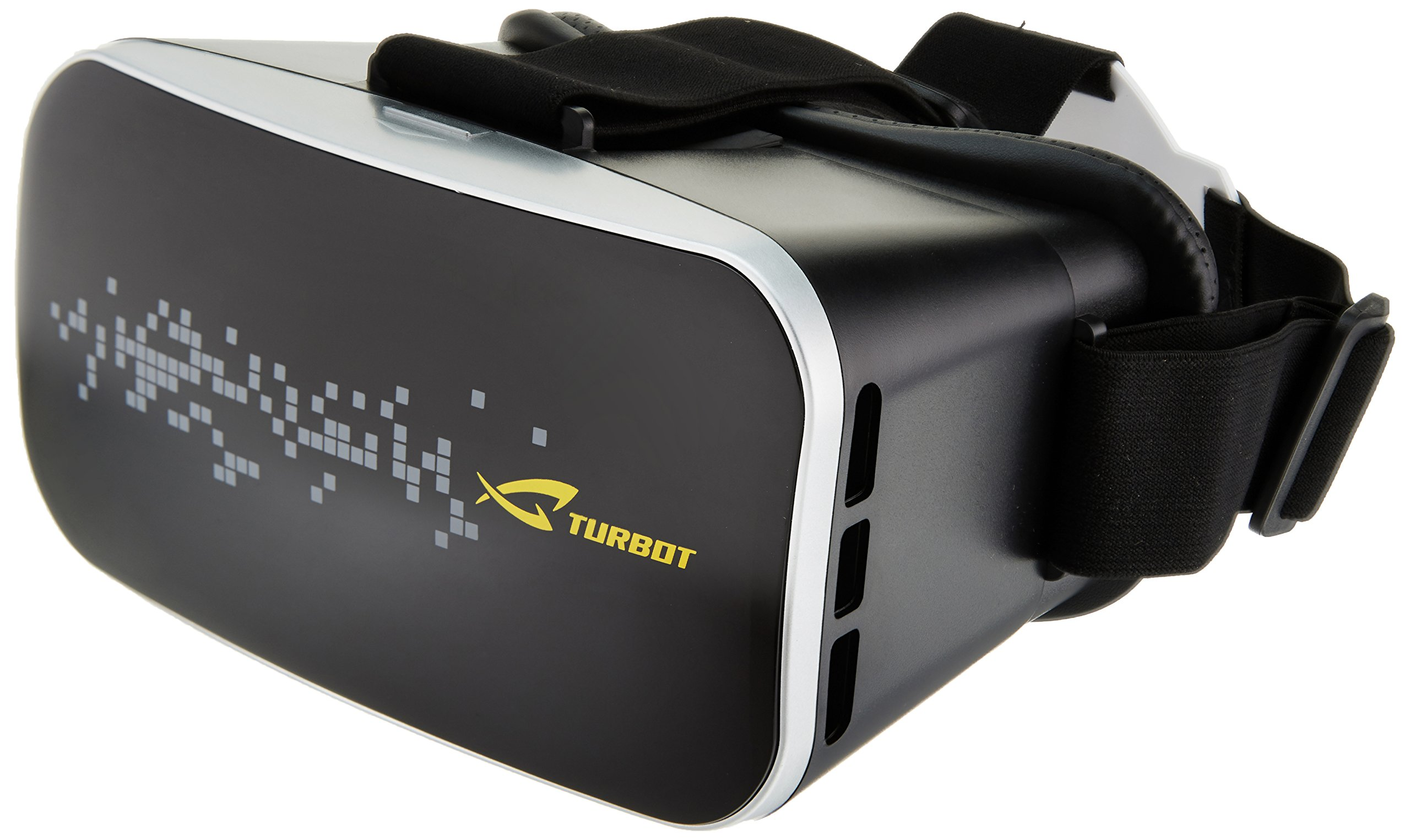 Turbot 3D VR Virtual Reality Headsets Glasses Box with Adjustable Head Straps For 3D Movies Games
