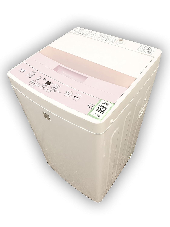 AQUA 4.5kg全自動洗濯機 keyword キーワードピンク AQW-S4E4(KP)   B06XPV673J