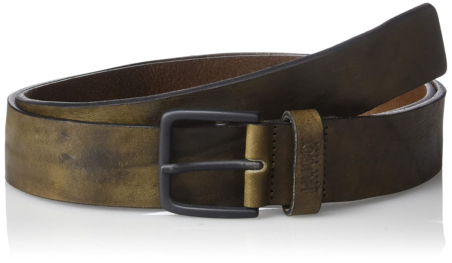 C-Gasillo Distressed Leather Casual Belt 50327685