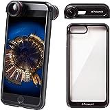 360度カメラ Polaroid 全天球カメラ スマホレンズ パノラマカメラ iPhone レンズ 魚眼 全方位 広角 旅行 自撮りレンズ パーティー SNSシェアー iphone7plus/8plus対応 スマホケース付き