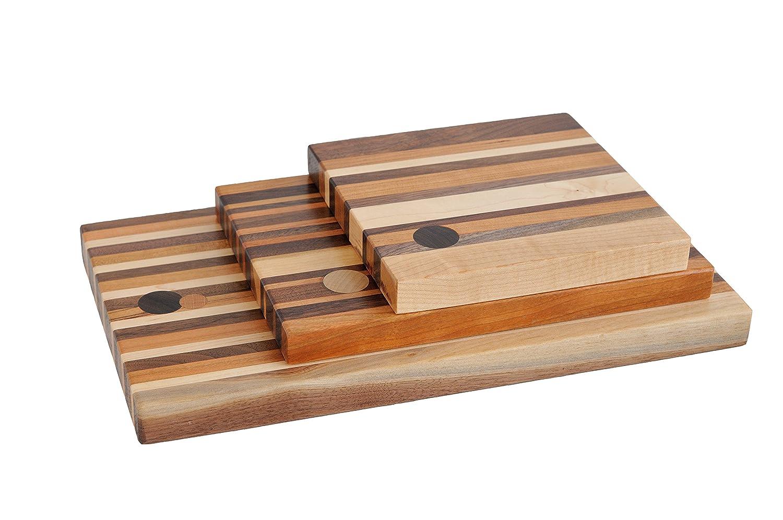 五徳とチーズボードセット、American Hardwoods 3 Piece Set 3 Piece Set  B07FCPJB23