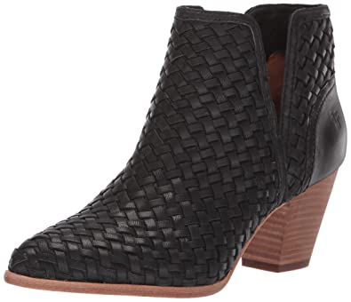 56b5ff036900d Amazon.com | FRYE Women's Reed Cut Out Woven Bootie Ankle Boot ...
