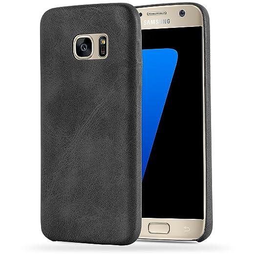 7 opinioni per Cadorabo- Retrò Vintage Samsung Galaxy S7 (NON per EDGE) Hard Cover Slim Case di