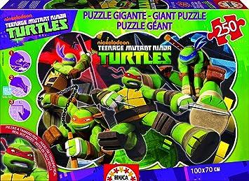 Puzzles Educa - Tortugas Ninja, Puzzle Gigante de 250 Piezas ...