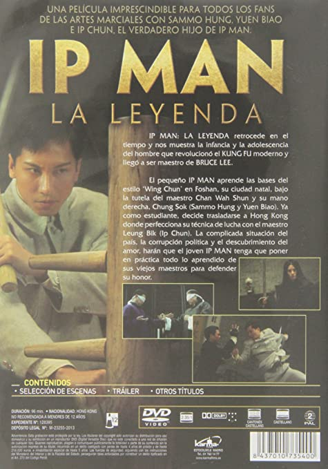 Amazon In Buy Ip Man La Leyenda Yip Man Chinchyun The Legend Is Born Ip Man 2010 Import Dvd Blu Ray Online At Best Prices In India Movies Tv Shows