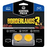 KontrolFreek Borderlands® 3 Claptrap Performance Thumbsticks for PlayStation 4 (PS4) | 2 Mid-Rise Convex Thumbsticks | Yellow