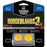 KontrolFreek Borderlands 3 Claptrap Performance Thumbsticks for PlayStation 4 (PS4) | 2 Mid-Rise Convex Thumbsticks | Yellow
