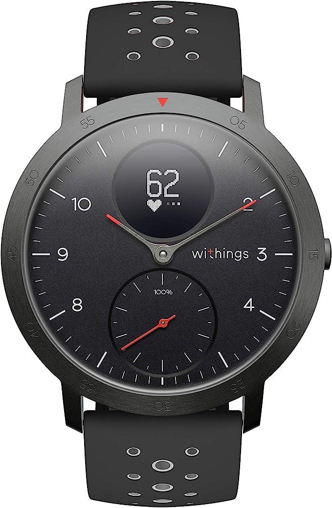 Withings Steel Hr Sport Multisport Hybrid Smartwatch Black 40mm Sport Freizeit
