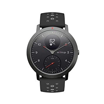 Withings Steel HR Sport Reloj Inteligente Híbrido, Unisex Adulto ...